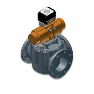 Vanne pneumatique GP de régulation thermostatique AMOT